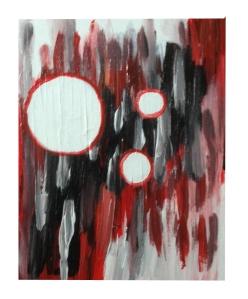 WEB_schilderij_zwart_rood_wittecirkels